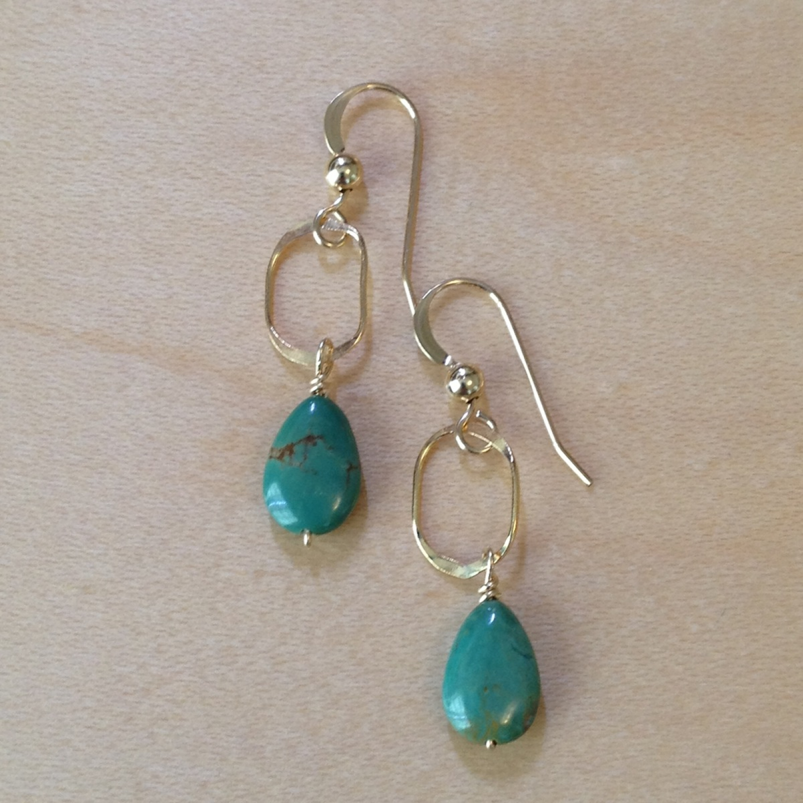 cod adorn botanical earrings cape product img turquoise home